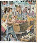 New Yorker May 30th, 2011 Wood Print
