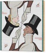 Eustace Tillarobama Wood Print