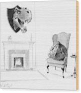 New Yorker February 13th, 2017 Wood Print
