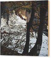 Up River Wood Print