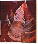 Upper Antelope Canyon Wood Print