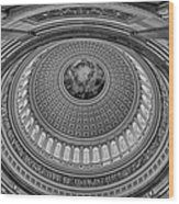 Us Capitol Rotunda Wood Print