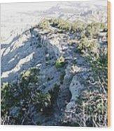 Utah Mountain Wood Print