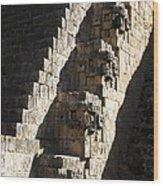 Uxmal Maya Ruins Wood Print