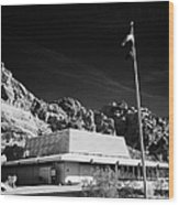 Valley Of Fire State Park Visitors Center Nevada Usa Wood Print