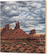 Valley Of The Gods II Wood Print