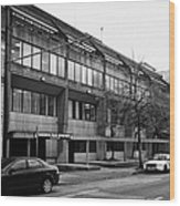 Vancouver Police Department Station 236 Cordova Street Bc Canada Wood Print