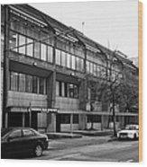 Vancouver Police Department Station 236 Cordova Street Bc Canada Wood Print by Joe Fox