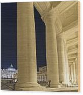 Vatican City Wood Print