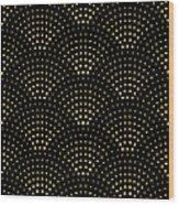 Vector Abstract Seamless Wavy Pattern Wood Print