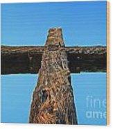 Ventura Cross Wood Print