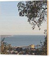 Ventura Skyline Wood Print