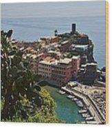 Vernazza - Cinque Terre Wood Print