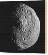 Vesta Asteroid Wood Print