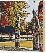 V.i. 0029 Wood Print