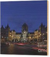 Victoria Terminus Mumbai Wood Print