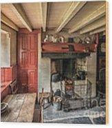 Victorian Cottage Wood Print