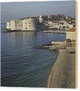 Views Of Dubrovnik Old Town Croatia Wood Print