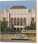 Vigado Concert Hall In Budapest Wood Print