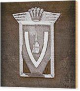 Vignale Emblem Wood Print