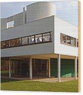 Villa Savoye - Le Corbusier Wood Print