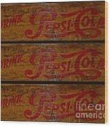 Vintage Pepsi  Wood Print