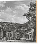 Virginia City Montana Ghost Town Wood Print
