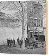 Virginia Slave Dealer Wood Print