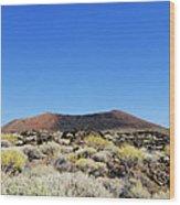 Volcanic Landscape Wood Print
