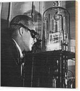 Walter Brattain, Us Physicist Wood Print