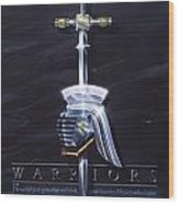 Warriors Wood Print by Cliff Hawley