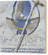 Warriors Triumphant Wood Print