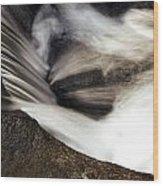 Water Flow Wood Print