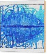 Water Variations 14 Wood Print