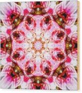 Lily Mandala Wood Print