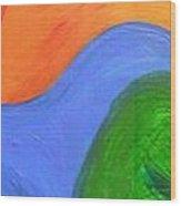 Wavelength Wood Print