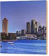 Waverton Sydney Wood Print