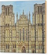 Wells Cathedral Wood Print