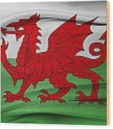 Welsh Flag Wood Print