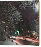 Westchester Avenue Wood Print