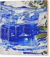 Wet Paint 54 Wood Print
