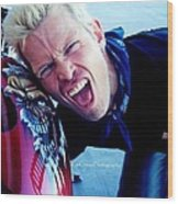 Billy Idol - Whiplash Smile Wood Print