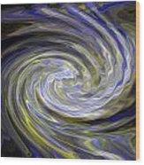 Whirly Whirls 20 Wood Print by Cyryn Fyrcyd