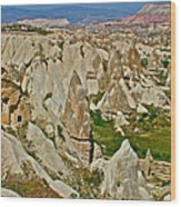 Who Lives Here In Cappadocia-turkey  Wood Print
