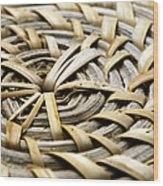 Wicker Wood Print