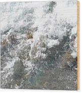Wild Water Wood Print