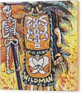 Wildman John Wood Print