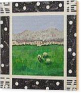 Willamette Valley In Spring Wood Print