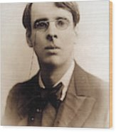 William Butler Yeats (1865-1939) Wood Print