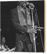 Wilson Pickett Wood Print